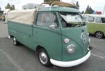 Cool VW Single Cab Pickup With Safari Windows, Roof Rack and Tilt Cover Oer The Pickup Bed